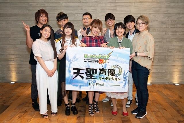 ▲特別審査員の松本梨香さんとファイナリストに選ばれた9名