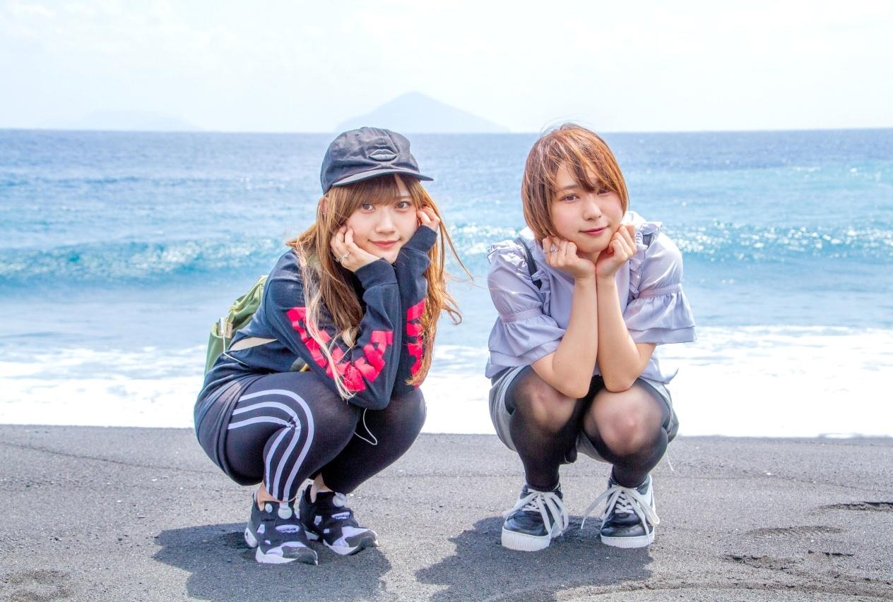 山田麻莉奈、富田美憂による、声優おさんぽシリーズ新番組放送開始