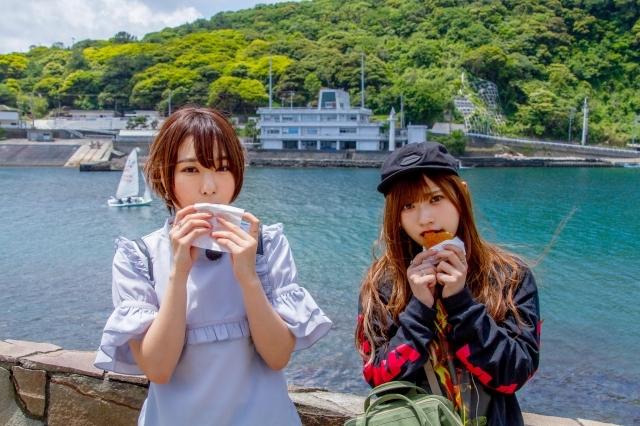 声優・山田麻莉奈さん、富田美憂さんによる、声優おさんぽシリーズの新番組「ぐるり島さんぽ~まりりととみたんが大島一周するんだもん~」が2019年7月31日(水)BS11にて夜11時より放送開始!