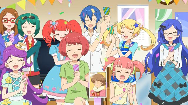 TVアニメ『キラッとプリ☆チャン』第66話先行場面カット・あらすじ到着!プリ☆チャンアイドルを目指している、きなこ、あいす、もなかの三人に出会って……の画像-1