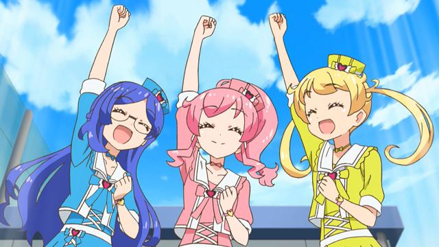 TVアニメ『キラッとプリ☆チャン』第66話先行場面カット・あらすじ到着!プリ☆チャンアイドルを目指している、きなこ、あいす、もなかの三人に出会って……の画像-21