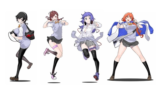 女子高生4人がラップバトルで登りつめていく学園ヒエラルキー青春物語!エイベックスが手掛けるバーチャルプロジェクト『言霊少女』始動!キャラクターキャストオーディションも実施-1
