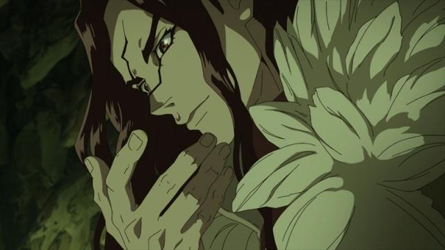 夏アニメ『Dr.STONE』第3話あらすじ&先行カット到着! 霊長類最強の男・獅子王司が千空たちに迫る……!