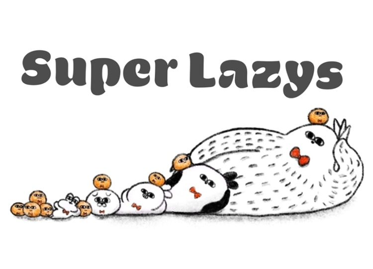 アニメ『Super Lazys』で五木あきらとうらまるが声優初挑戦
