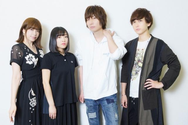 ▲左から諏訪彩花さん、市ノ瀬加那さん、前野智昭さん、中島ヨシキさん