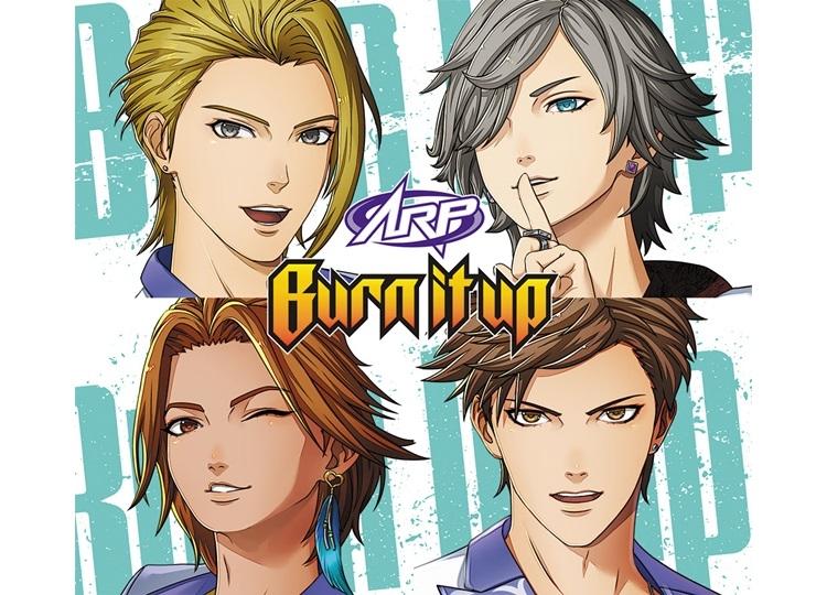 """ARP""Newシングル「Burn it up」8月21日発売"