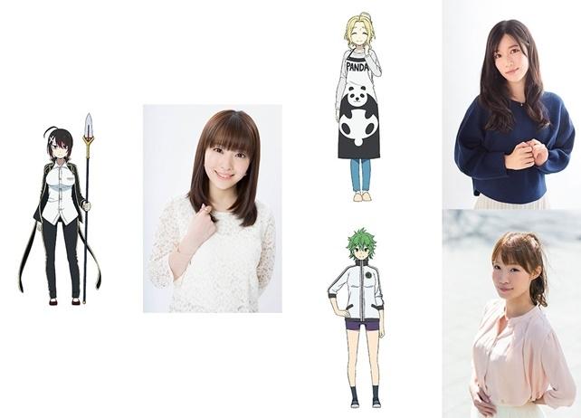 秋アニメ『戦×恋』声優・内山夕実、原由実、清水彩香がCVを担当