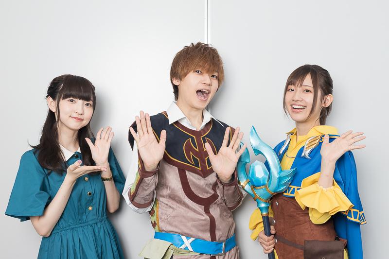 『異世界チート魔術師』声優・天﨑滉平、高橋李依、田中美海が先行上映会に登壇