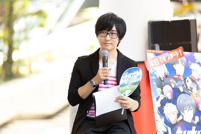 夏アニメ『トライナイツ』阪本奨悟さん、寺島拓篤さんが登壇したイベントレポートが到着! 第1話の場面カット、BD&DVDや主題歌情報も公開