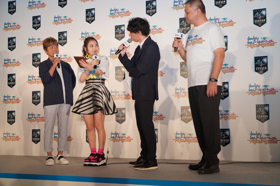 『ガンダム』シリーズの公式YouTubeチャンネル誕生!新メディア発表会で古谷徹さんがユーチューバーデビューに前向きな姿勢を……!?新作についての情報も明らかに!