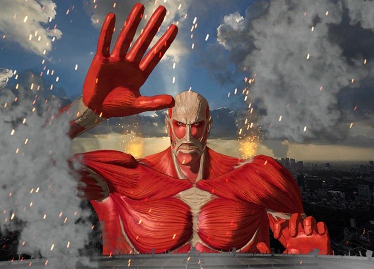 「進撃の巨人展FINAL×SKY DECK~超大型巨人襲来~」8月6日より開催