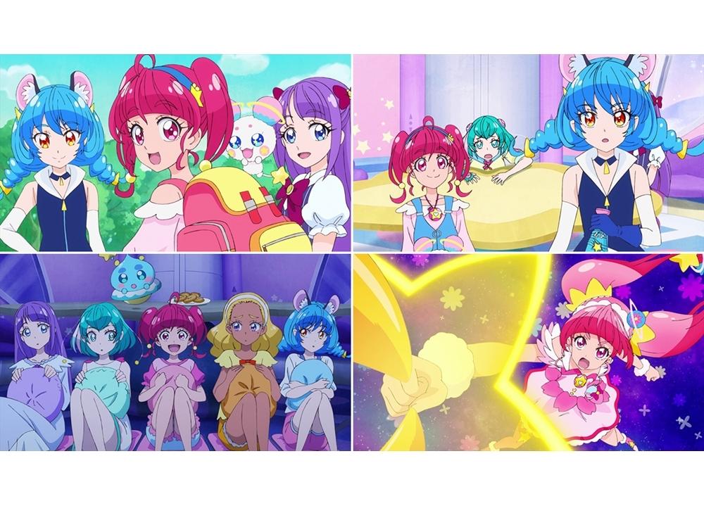 『スタプリ』第26話「ナゾの侵入者!?恐怖のパジャマパーティ☆」より先行カット到着