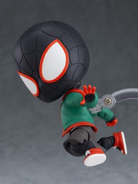 『スパイダーマン:スパイダーバース』より、「マイルス・モラレス」がねんどろいど化! 私服ボディが付属したDX版も同時発売!