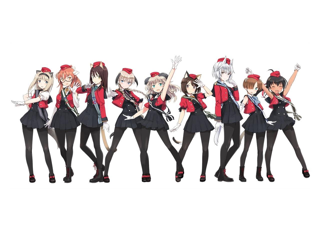 『ルミナスウィッチーズ』PV第2弾公開!TVアニメは2021年放送予定