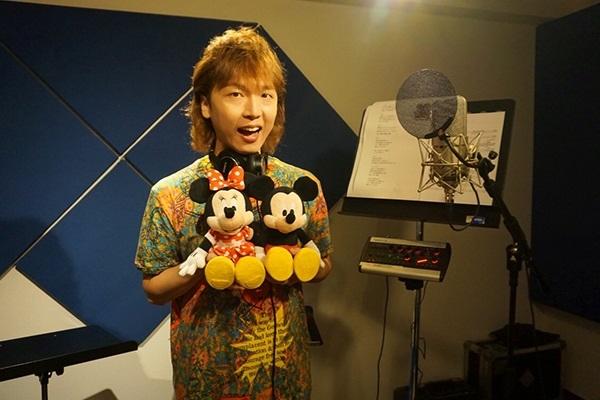 立花慎之介さん『Disney 声の王子様 Voice Stars Dream Selection Ⅱ』インタビュー