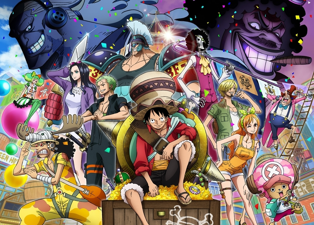 『ONE PIECE STAMPEDE』SP映像がTVで解禁!