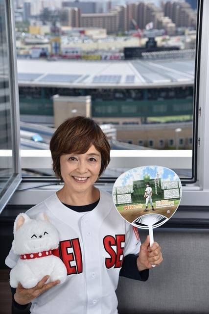 『MIX』声優・日髙のり子さんが夏の甲子園へ! 球児たちへ熱いエールを送り、『タッチ』ラストシーンのアフレコも振り返る-1