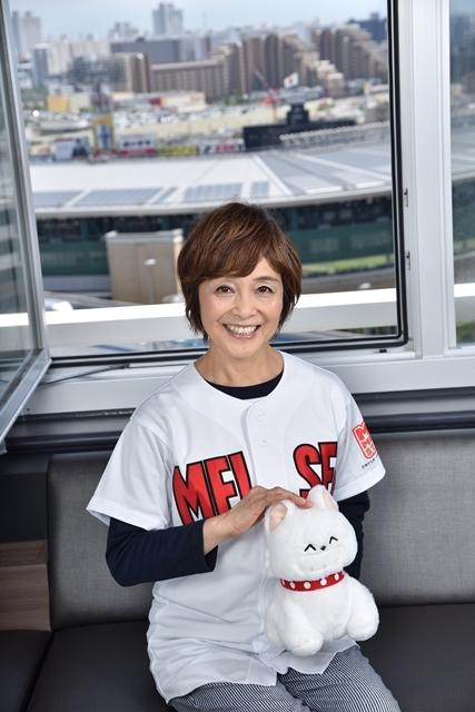 『MIX』声優・日髙のり子さんが夏の甲子園へ! 球児たちへ熱いエールを送り、『タッチ』ラストシーンのアフレコも振り返る-2