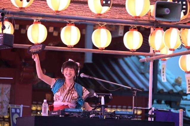 『ご注文はうさぎですか??』DJ兎猛者(a.k.a 徳井青空)さんとPandaBoYさん出演で「ご注文はMini DJ Nightですか??」実施!神田明神境内の熱い夜を公式レポで紹介