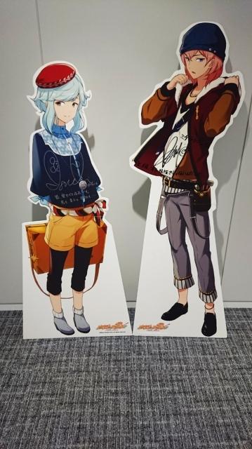 ▲左:ダ・ヴィンチ(CV:井口祐一さん)右:ミケランジェロ(CV:KENNさん)