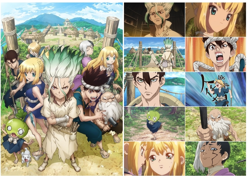 『Dr.STONE』新章『村編』より最新PV公開!
