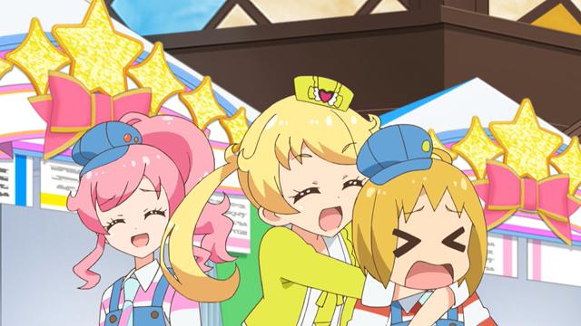 TVアニメ『キラッとプリ☆チャン』第71話先行場面カット・あらすじ到着!夏休みの宿題、「将来の夢」の作文が全く進まないえもは……-18