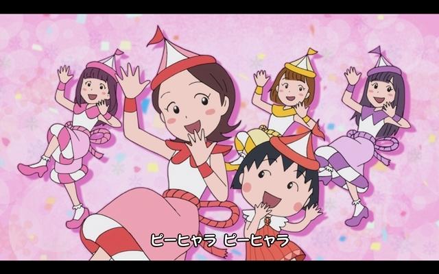 『ちびまる子ちゃん』ももクロとまるちゃんたちが大集合! 全編アニメーションの「おどるポンポコリン」MV公開-4