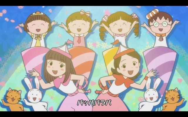 『ちびまる子ちゃん』ももクロとまるちゃんたちが大集合! 全編アニメーションの「おどるポンポコリン」MV公開-6