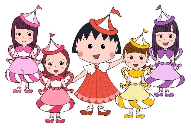 『ちびまる子ちゃん』ももクロとまるちゃんたちが大集合! 全編アニメーションの「おどるポンポコリン」MV公開-10