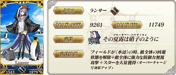 『Fate/Grand Order』「ラスベガス御前試合ピックアップ2 召喚(日替り)」開催! 3騎の新サーヴァントが登場