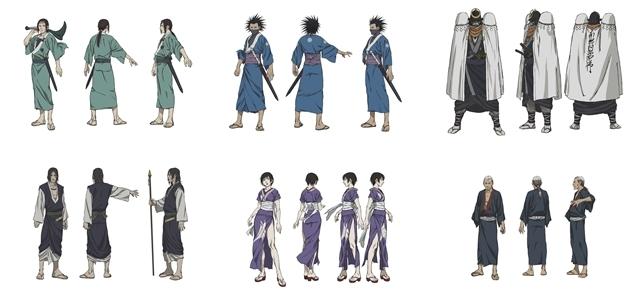 『無限の住人-IMMORTAL-』佐々木望さん・鈴木達央さんら追加声優6名解禁! それぞれが演じるキャラクターのビジュアルも公開-1
