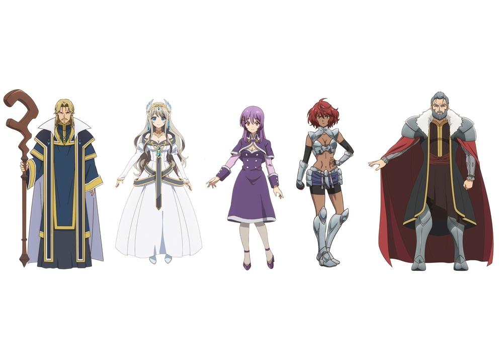 『異世界チート魔術師』追加声優5名とキャラビジュアル解禁!