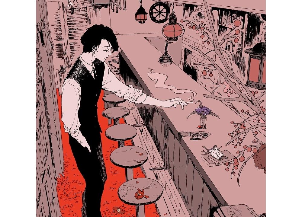 『文スト』春河35が、映画『人間失格』をイメージした描き下ろしイラスト公開