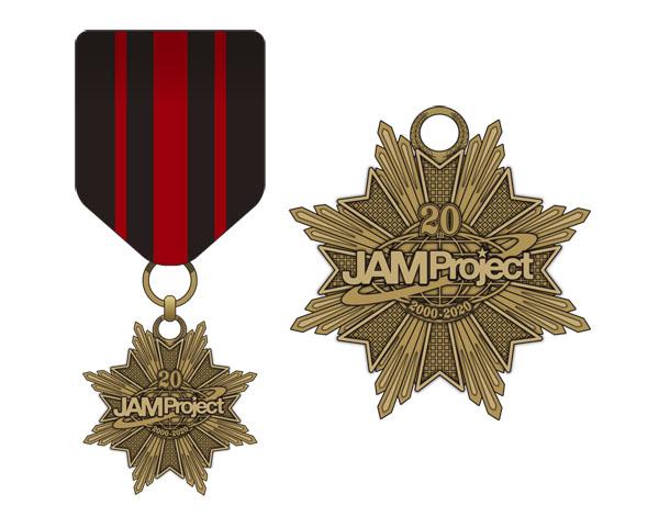 ▲JAM's Guardians Medal