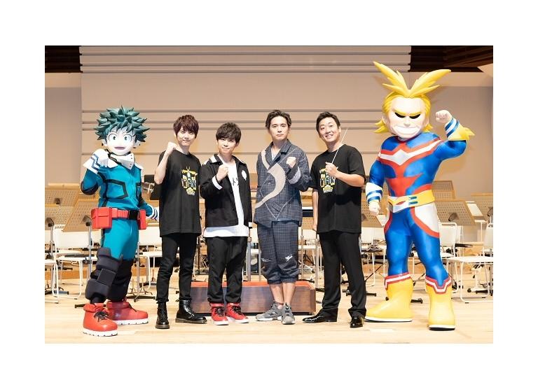 TVアニメ『僕のヒーローアカデミア』コンサート公式レポ到着