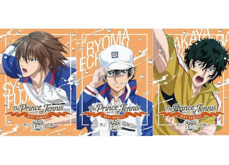 『テニスの王子様 BEST GAMES!! 不二 vs 切原』KV第2弾公開