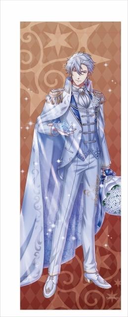『夢王国と眠れる100人の王子様』の4周年を記念した「イベント衣装ロングタペストリー」と「スマートフォンケース」第2弾(太陽覚醒Ver)が発売決定!