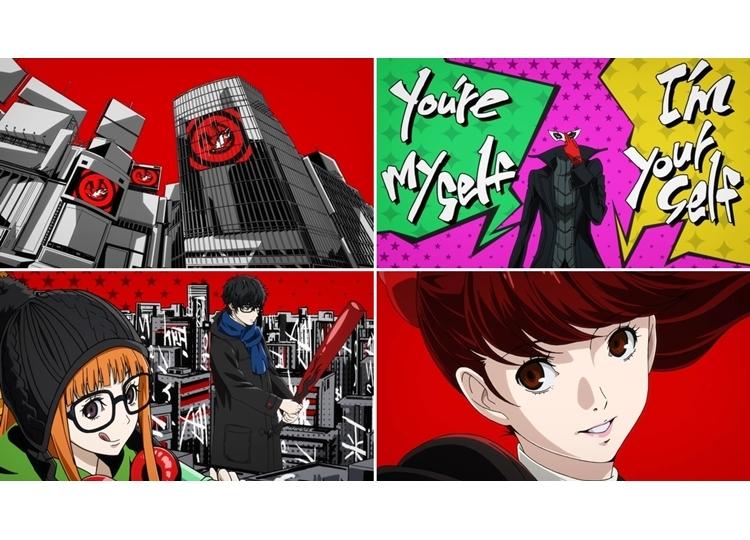 『P5R』ゲーム内オープニングアニメ公開