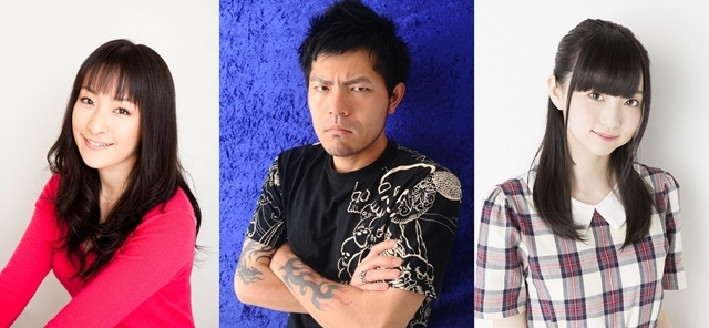 ▲左から植田佳奈さん、ブンブン丸さん、田中美海さん
