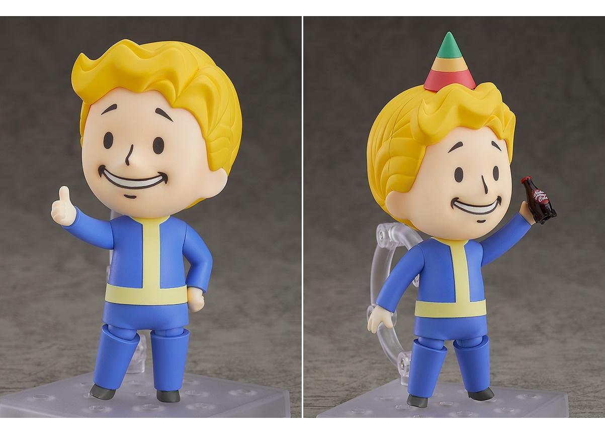 『Fallout』シリーズよりボルトボーイがねんどろいど化