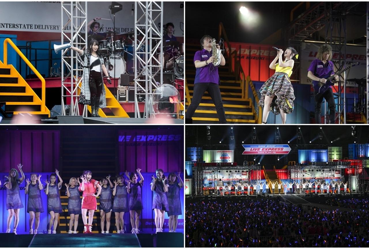 声優アーティスト・水樹奈々2019年夏ライブツアー千秋楽公式レポート