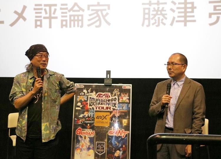 『機動戦士ガンダム 逆襲のシャア』4DX上映舞台挨拶の公式レポ到着
