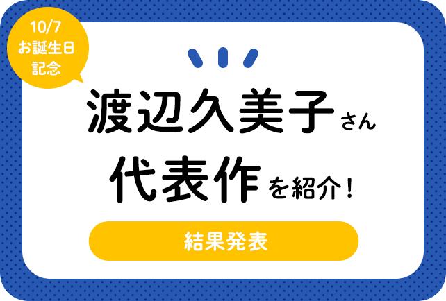 声優・渡辺久美子さんお誕生日記念、アニメキャラクター代表作まとめ