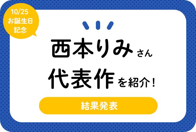 声優・西本りみさん、アニメキャラクター代表作まとめ