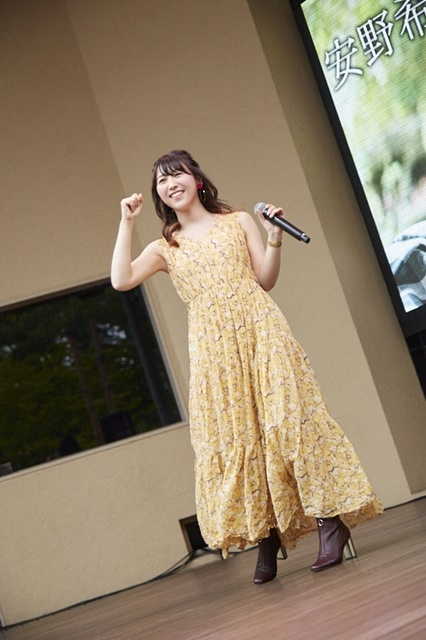 声優・安野希世乃さんの3rdミニアルバム『おかえり。』リリースイベント公式レポートが到着! TVアニメ『ソウナンですか?』のエンディングテーマ「生きる」などを披露!-1