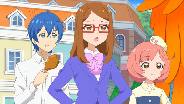 TVアニメ『キラッとプリ☆チャン』第78話先行場面カット・あらすじ到着!町が大騒ぎになる中、マスクを付けたフェニックス仮面が現れて……