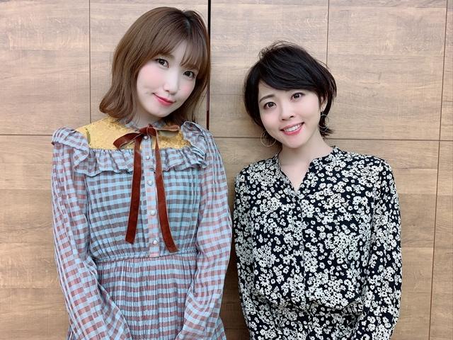▲左から内田彩さん、福圓美里さん