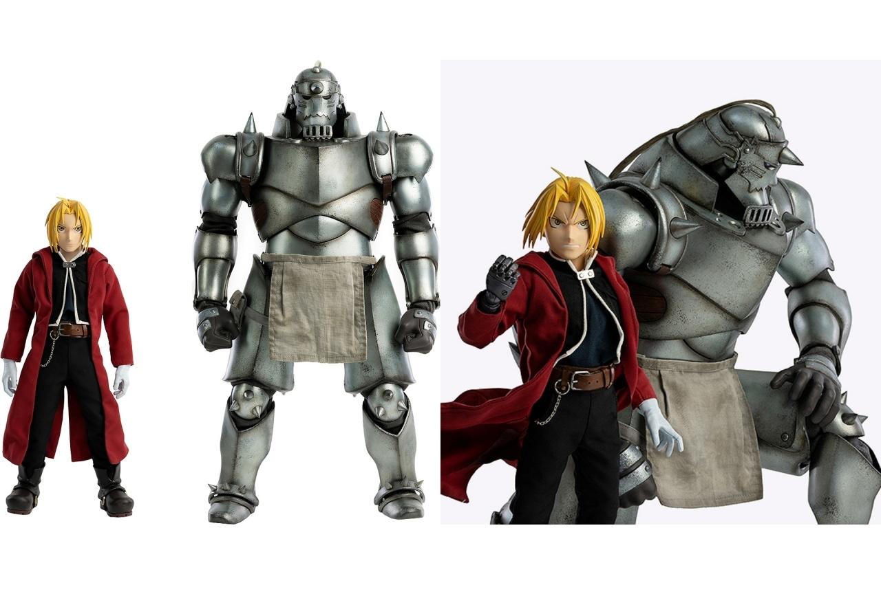 『鋼の錬金術師』「エルリック兄弟」がスケールドールフィギュア化