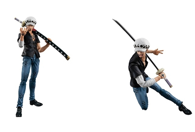 『ONE PIECE』より、「トラファルガー・ロー」のアクションフィギュアが完全新規造形で再登場!【今なら18%OFF!】