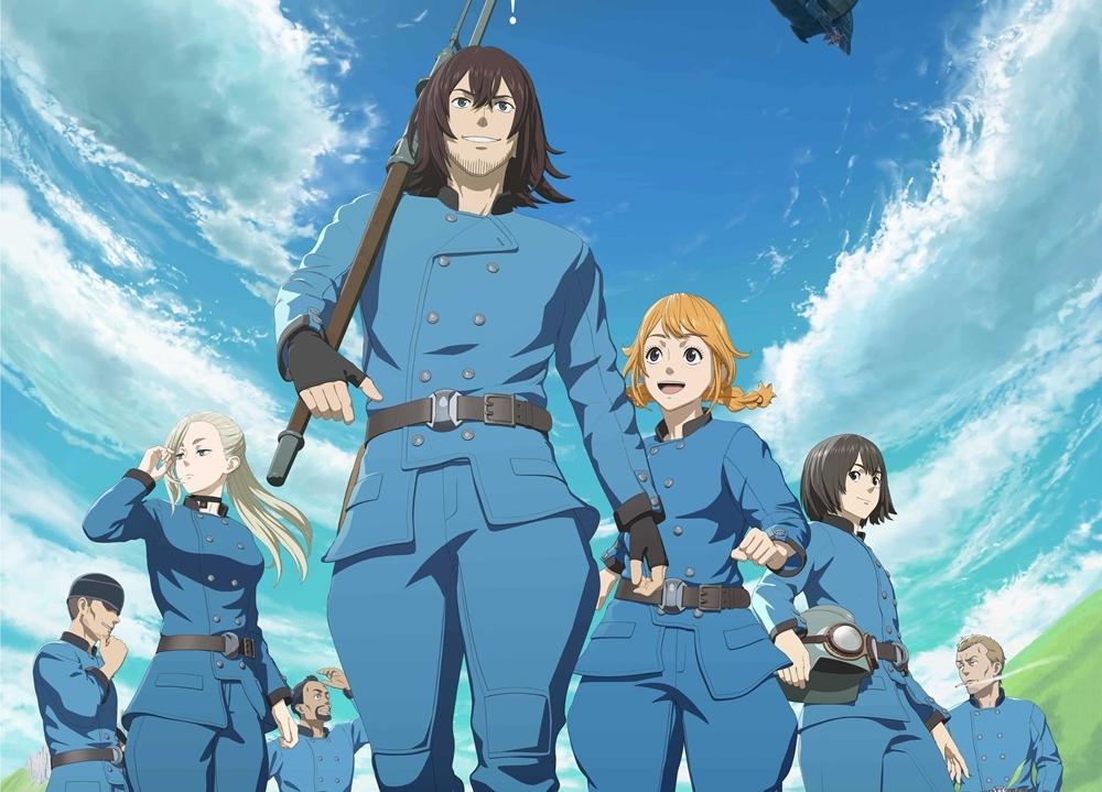 『空挺ドラゴンズ』出演声優18名解禁!最新PV、原作者&監督からのコメントも公開